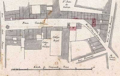 Collège de Cambrai ou des Trois-Évêques ( Disparu )