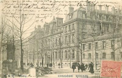 Collège lycée Jacques Decour, ex collège de Sainte-Barbe puis Rollin.