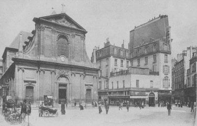 Église de Notre-Dame-des-Victoires, ex couvent des Augustins déchaussés ou Petits-Pères