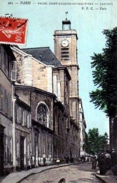 Eglise Saint-Jacques-du-Haut-Pas
