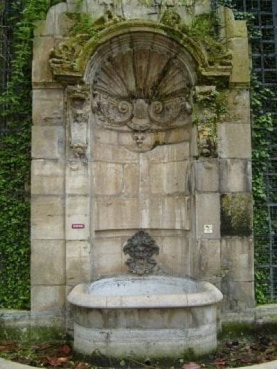 Fontaine Childebert ou de l'abbaye Saint-Germain-des-Prés.