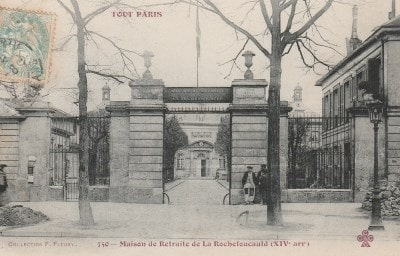 Hospice de La Rochefoucauld, maison royale de santé