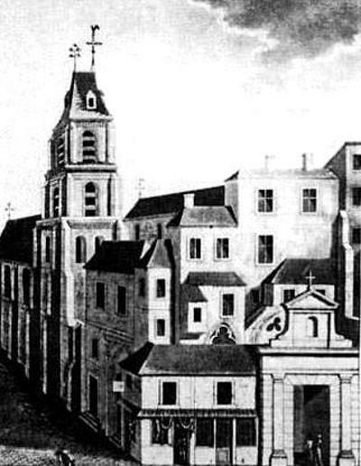 Église Saint-Etienne-des-Grès ( Emplacement - disparue )