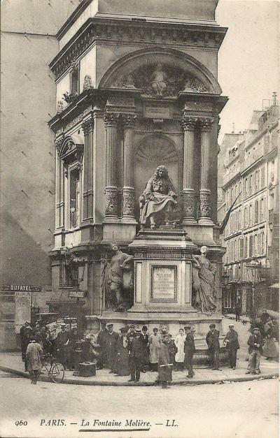 Fontaine Molière ( Ex : fontaine Richelieu )