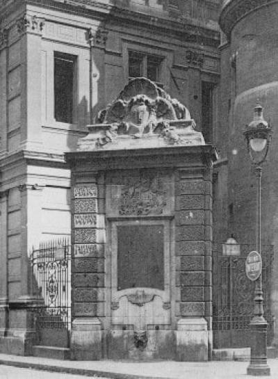 Fontaine Saint-Martin ou du Vertbois