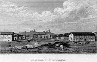 Abattoir de Montmartre ou de Rochechouart ( Disparu - Emplacement )