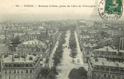 Avenue d'Iéna ( Ex : rue des Batailles )